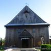 Kościół w Mętkowie/Szlak Architektury Drewnianej/Wooden Architecture Trail
